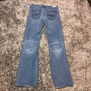 Ag Adriano Goldschmied Jeans - AG Jeans The Angel Bootcut 29R X 31 light wash
